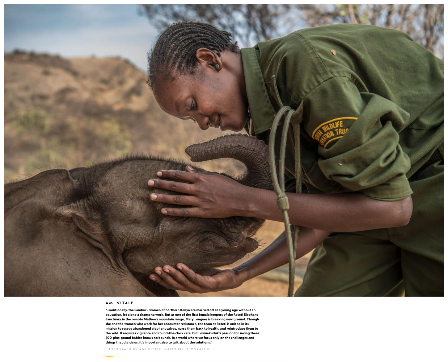 National Geographic Celebrates International Women's Day