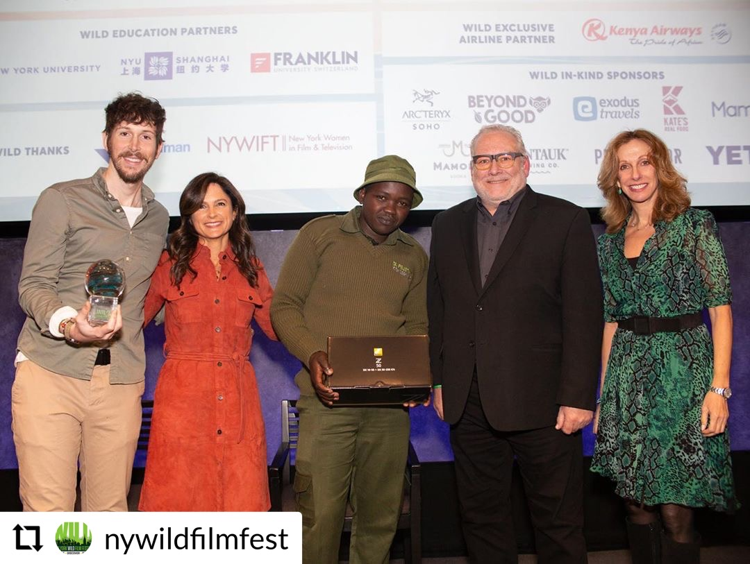 Nikon Donates New Z 50 and Lenses to Joseph Wachira at NYWild Film Festival